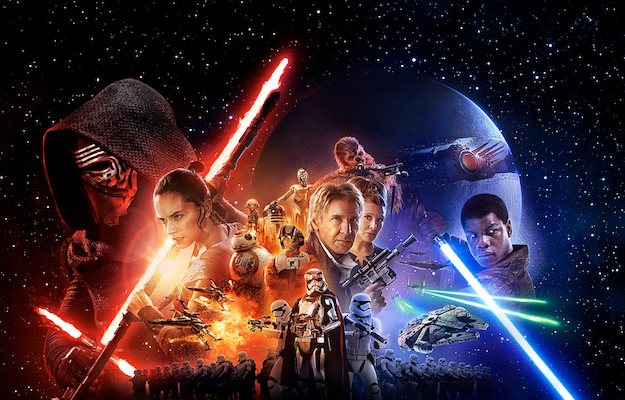 Star Wars: The Force Awakens på Viaplay